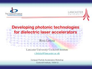 Developing photonic technologies for dielectric laser accelerators