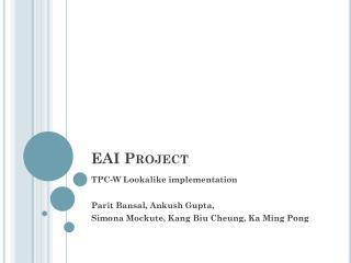 EAI  Project