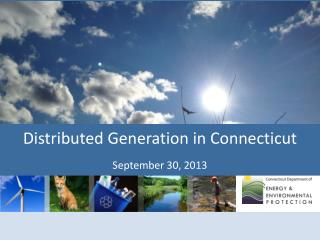 Distributed Generation in Connecticut September 30, 2013