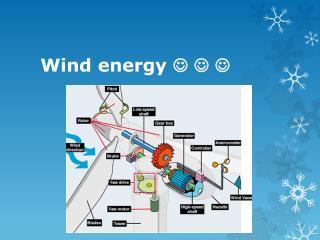 Wind energy  ? ? ?