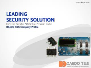 LEADING SECURITY SOLUTION