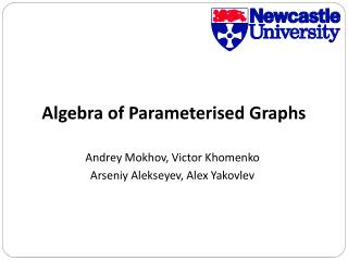 Algebra of Parameterised Graphs