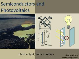 Semiconductors and Photovoltaics