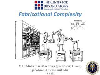 MIT Molecular Machines ( Jacobson ) Group  jacobson@media.mit.edu 3.9.13