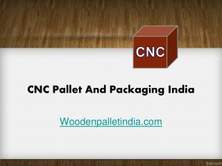 CNC Pallet and Packaging India