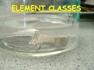 ELEMENT CLASSES