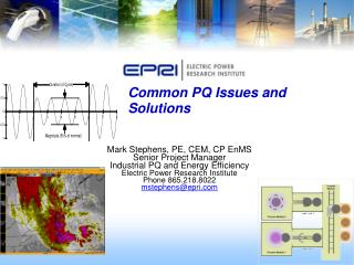 Common PQ Issues and Solutions