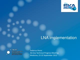 LNA implementation
