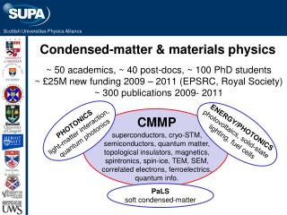 Condensed-matter & materials physics