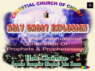 to develop a comprehensive meeting forum for worldwide active prophets, prophetesses and church workers.  to establish a