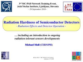 Michael Moll  (CERN/PH)