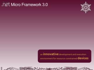 Micro Framework  3.0