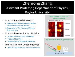 Zhenrong Zhang Assistant Professor, Department of Physics, Baylor University