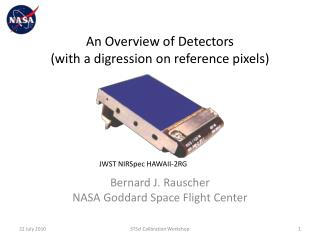 An Overview of Detectors (with a digression on reference pixels)