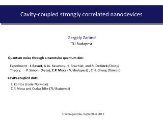 Cavity-coupled strongly correlated nanodevices