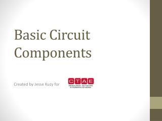 Basic Circuit Components