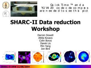sharc-ii data reduction workshop