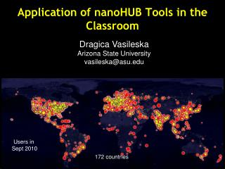 Application of  nanoHUB  Tools in the Classroom