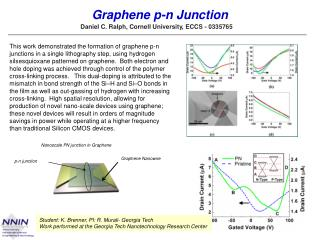 Graphene  p-n Junction