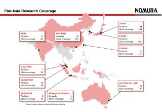 Pan-Asia Research Coverage