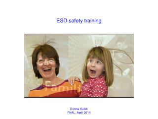 ESD safety training
