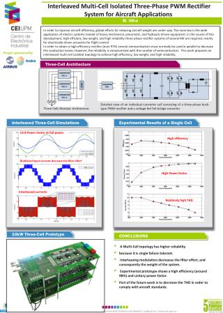 Interleaved Multi-Cell Isolated Three-Phase PWM Rectifier System for Aircraft Applications
