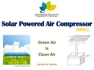 Solar Powered Air Compressor