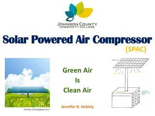 Solar Powered Air Compressor