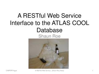 A  RESTful  Web Service Interface  to the ATLAS COOL  Database