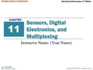 Sensors, Digital Electronics, and Multiplexing