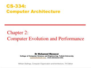 Dr Mohamed  Menacer College of Computer Science and Engineering,  Taibah  University eazmm@hotmail.com ,  www.mmenacer.