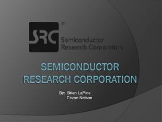 Semiconductor Research Corporation