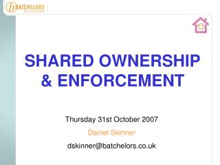 shared ownership  enforcement