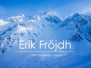 Erik Fröjdh