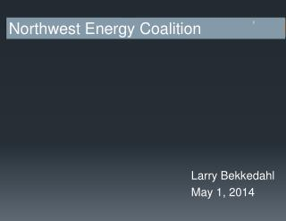 Larry Bekkedahl May 1, 2014