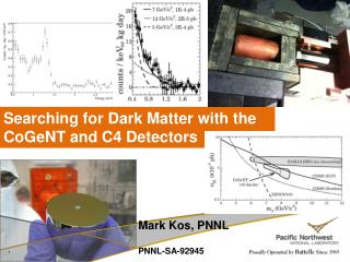 Mark Kos,  PNNL PNNL-SA-92945