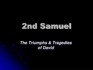 2nd samuel