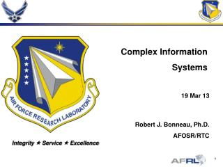 Complex Information Systems