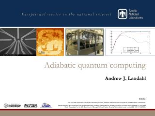 Adiabatic quantum computing