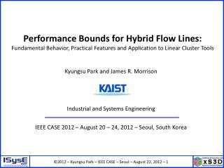 Performance Bounds for Hybrid Flow Lines: Fundamental Behavior, Practical Features and Application to Linear Cluster To
