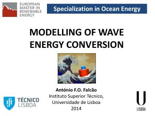 Specialization in Ocean Energy