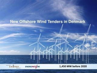 New Offshore Wind Tenders in  Denmark