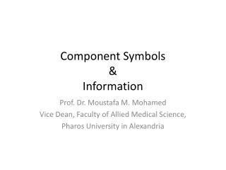 Component Symbols & Information