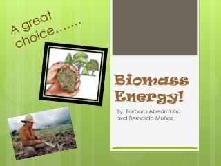 Biomass Energy!