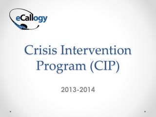 Crisis Intervention Program (CIP)