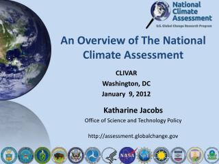 An Overview of The National Climate Assessment