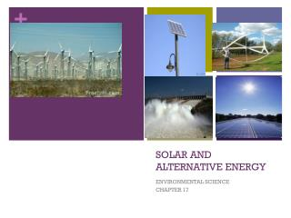 SOLAR AND ALTERNATIVE ENERGY