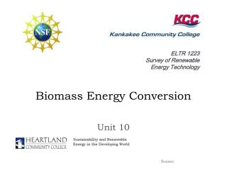 Biomass Energy Conversion