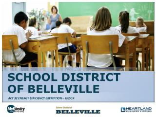 SCHOOL DISTRICT OF BELLEVILLE
