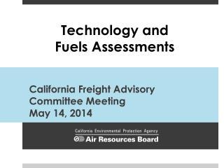 California Freight Advisory Committee Meeting May 14,  2014